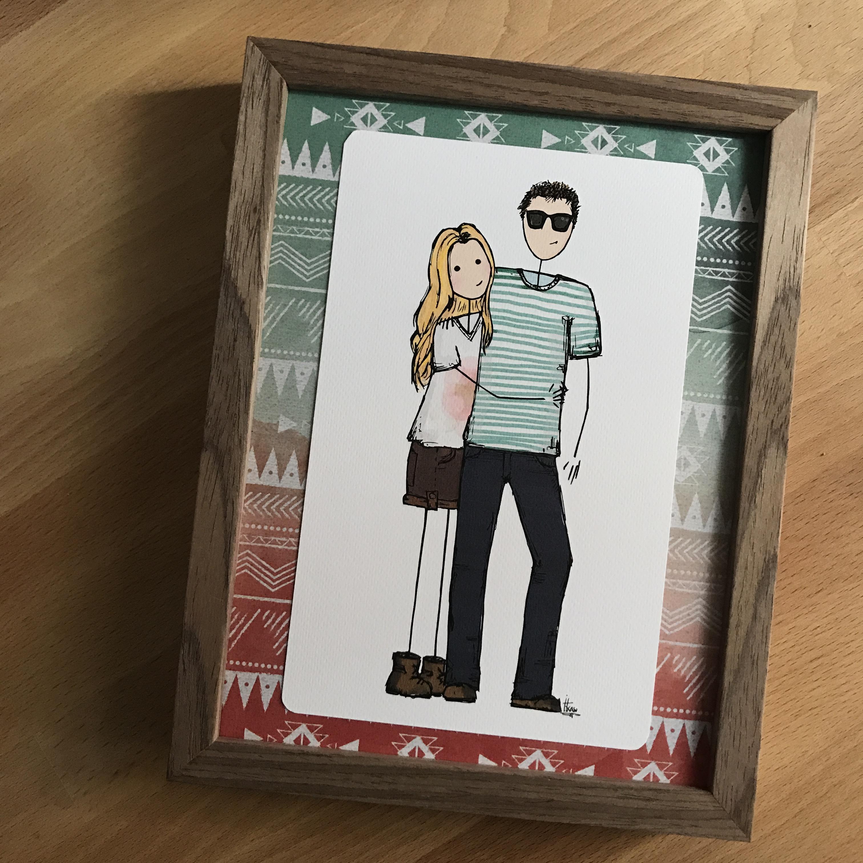 la ilustracin es un regalo para su pareja y ya est en la que va a ser su nueva casa en una nueva etapa en la que le deseo muchsima suerte